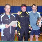 Die Sieger vom Doppelturnier - Markus Kolb/Thomas Schuhmacher