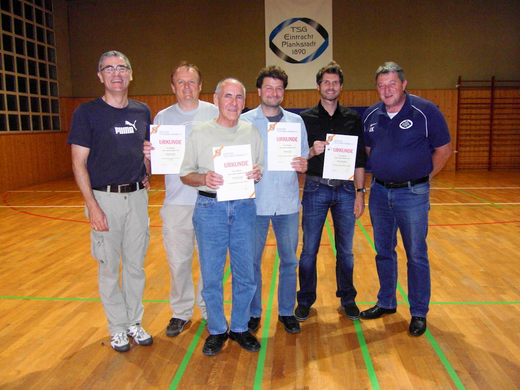 TSG-Eintracht-Tischtennisabteilung feierte Saisonabschluss