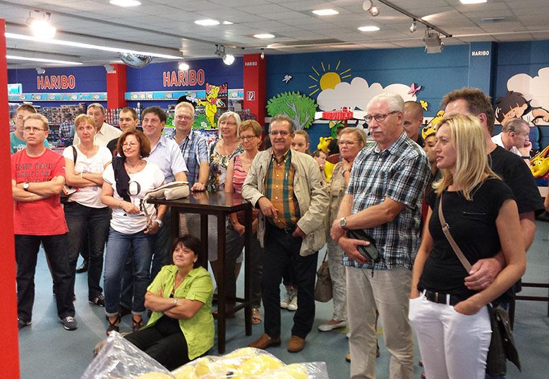 Tischtennis-Ausflug zu Haribo nach Bonn