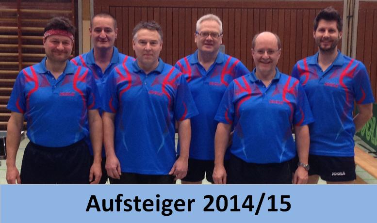 Meistermannschaft der Kreisliga St. 2