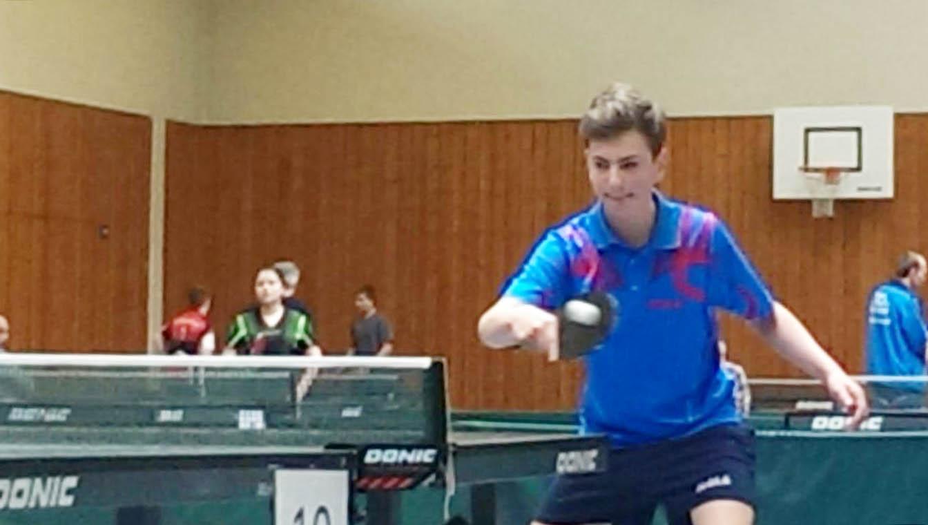 Philipp Adar - 2. Platz bei der Schüler Rangliste Region Nord/Ost in Höpfingen
