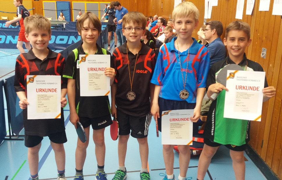 Kai Barenhoff von der TSG Eintracht Plankstadt wird 10. bei der baden-württembergischen Rangliste im Tischtennis