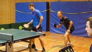 Doppel der 2. Mannschaft - Lukas Heckmann und Michael Heilig