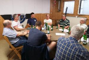 Mitgliederversammlung der Tischtennisabteilung der TSG Eintracht Plankstadt 2018