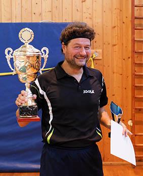 Tischtennis Ortsmeister 2018 Markus Kolb