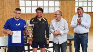 Tischtennisortsmeisterschaften 2019 - Luca Vierling kam, sah und siegte!
