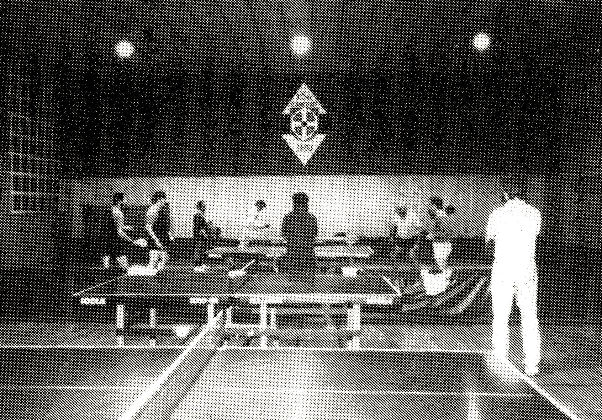 Tischtennis Training
